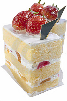 Strawberry Cake Stock Image - Image: 16620011