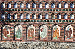 Orthodox Church Wall Royalty Free Stock Images - Image: 16622909