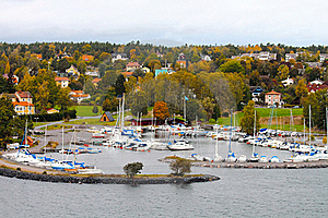 Autumn Boats Stock Photo - Image: 16624820
