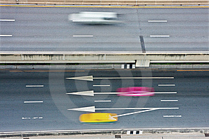 Traffic With Motion Blur Royalty Free Stock Photography - Image: 16629377