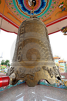 Huge Chinese Bell Royalty Free Stock Photography - Image: 16629787