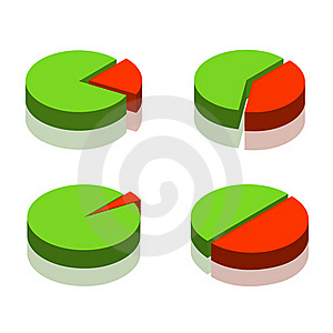 Set Of The Diagrams Stock Image - Image: 16630191