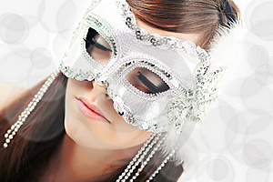 Closeup Of Young Beautiful Woman Royalty Free Stock Images - Image: 16635129