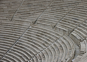 Modern Stone Theatre Royalty Free Stock Photography - Image: 16637207