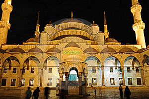 Blue Mosque Royalty Free Stock Images - Image: 16637669