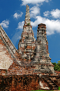 Ruined Wat Stock Photography - Image: 16637722