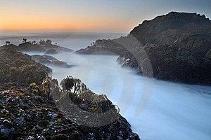 Rocky Ocean Beach Sea Shore Royalty Free Stock Photography - Image: 16640617