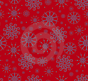 Snowflakes Seamless Stock Images - Image: 16640904
