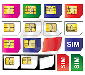 Sim Cards Royalty Free Stock Photos - Image: 16645218