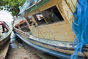 Old Fishing Boat Stock Photo - Image: 16649390