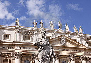 St Peters Basilica Stock Images - Image: 16656164
