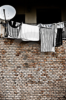 Hanging Clothes Stock Photo - Image: 16665840