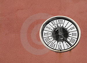 Old Wall Clock Stock Images - Image: 16666304