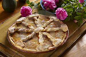 Pumpkin Pie Royalty Free Stock Photos - Image: 16667878