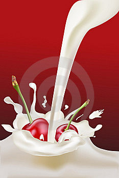 Milk Cs 2 Royalty Free Stock Photos - Image: 16668348
