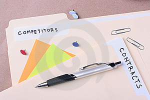 Competitors And Contracts Royalty Free Stock Images - Image: 16669749