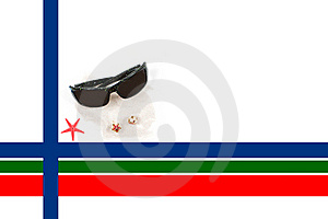 Caribbean Christmas Border Stock Images - Image: 16672594