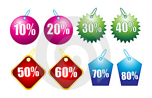 Discount Tags Stock Photo - Image: 16673050