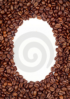 Coffee Beans Frame (background) Stock Photos - Image: 16673893
