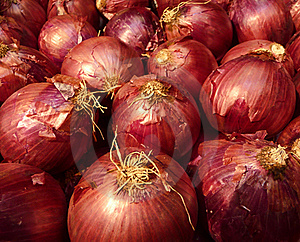 Red Onions Royalty Free Stock Photos - Image: 16674908