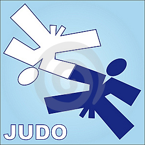 Symbol Martial Arts.Judo. Royalty Free Stock Images - Image: 16675659
