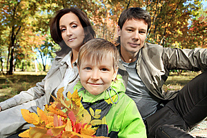 Parents With Son Royalty Free Stock Photography - Image: 16676427