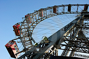 Wiener Riesenrad (Vienna Giant Ferris Wheel) Stock Photography - Image: 16677462