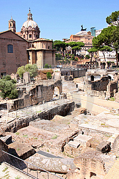Ruins Of The Roman Forum Stock Photo - Image: 16678270