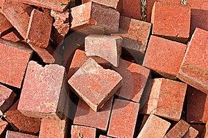 Pile Of Broken Bricks Royalty Free Stock Image - Image: 16678916