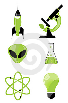 Scientific Icon Stock Photos - Image: 16684463