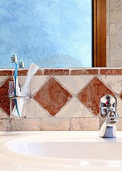 Detail Of Classic Bathroom Interior Stock Image - Image: 16687691