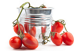 Cherry Tomatoes Stock Photography - Image: 16690772