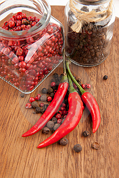 Pepper's Mix Stock Photos - Image: 16690803