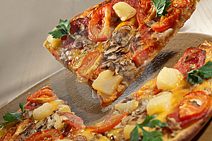 Hot Taste Pizza Stock Photos - Image: 16693543