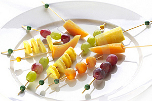 Different Sort Of Fruit Canape Royalty Free Stock Photography - Image: 16693727