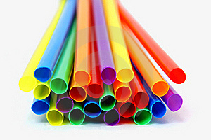 Colored Straws Royalty Free Stock Image - Image: 16694816