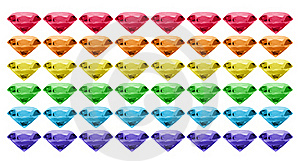 Gem Banner Royalty Free Stock Photos - Image: 16695688