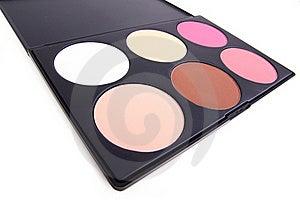 Neutral Eyeshadows Palette Stock Image - Image: 16696471