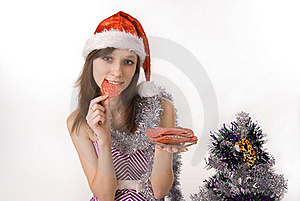 Beautiful Girl In Festive Attire Stock Photo - Image: 16696960