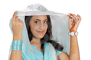 Indian Girl Royalty Free Stock Photography - Image: 16697187