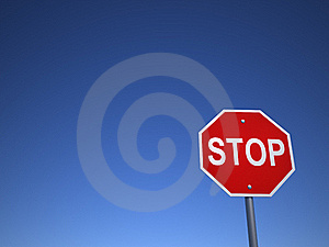 Stop Sing Stock Photography - Image: 16697272