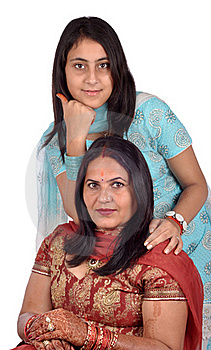 Mother And Her Daughter Royalty Free Stock Images - Image: 16697309