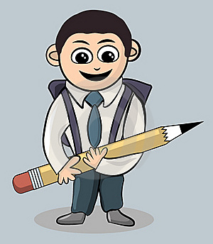 School Boy Royalty Free Stock Photo