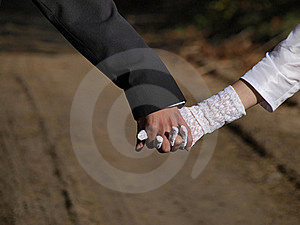Joined Hands Couples Suite Royalty Free Stock Photos - Image: 16697658