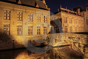 Canal In Bruges Royalty Free Stock Photography - Image: 16698147