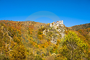 Ruin Of A Castle Royalty Free Stock Image - Image: 16698736