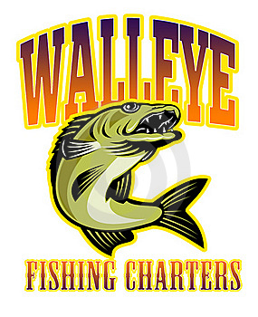 Walleye Fish Fishing Charters Stock Photos - Image: 16699483