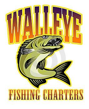 Walleye Fish Fishing Charters Stock Photos - Image: 16699483