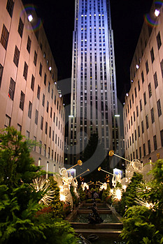 Rockefeller Center, New York City Stock Photos