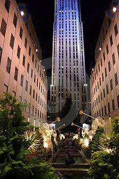 Rockefeller Center, New York City Stock Photos